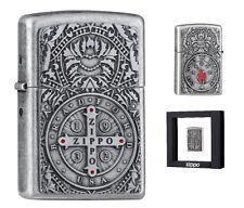 Zippo Feuerzeug Medal of Zippo Limited Edition xxxx/1000 beidseitiges Emblem