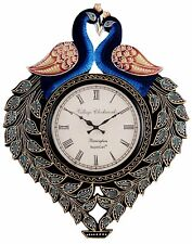 Peacock Analog Wall Clock Analog Kitchen Home Decor New