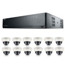 Samsung 16 Channel POE NVR 3TB 12 CCTV KIT Cameras 3year Warranty FREE CCTV SIGN