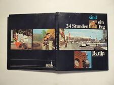 Bildband, Berlin Hauptstadt der DDR, 24 Stunden sind ein Tag, um 1977