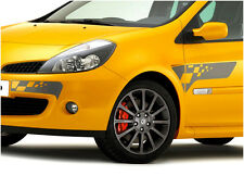 Renault Clio F1 Team Graphique Vinyle Autocollants Stickers MK3