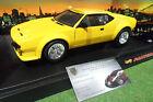 DETOMASO PANTERA jaune au 1/18 HOT WHEELS 27809 voiture miniature de collection