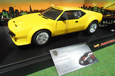 DETOMASO PANTERA jaune au 1/18 HOT WHEELS 27809 voiture miniature de collection