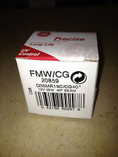 GE PRECISE 35W CONSTANT COLOUR HALOGEN DICHROIC LAMP-MADE IN USA