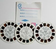 1982 View-Master FLYING SMURF - 3 Reel Set Only