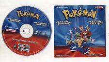POKEMON Versione Rubino e Zaffiro VIDEO CD Dvd Vcd Nintendo Game Boy Advance Pc