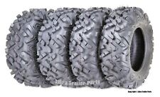 Set of 4 Atv Utv Tires 26x8-14 26x8x14 Front & 26x10-14 26x10x14 Rear 6Pr