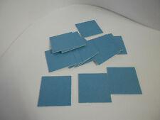 18 Pads Spezial Spiegelklebeband doppelseitiges Klebeband weiß 50mm x 50mm Tape