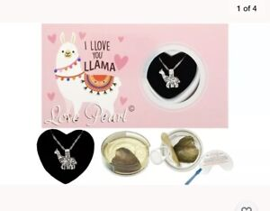"""Llama ~ Love Wish Pearl Necklace Kit Set Culture Pearl 16"""" Necklace Gift Item"""