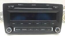 2010 SKODA OCTAVIA SWING CD RADIO STEREO MP3 HEAD UNIT 1Z0035161G (WITH CODE)