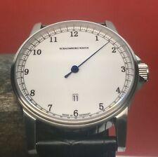 Schaumburg Gnomonik 2 Blue Swiss Automatic Single Hand 42mm With Watch winder