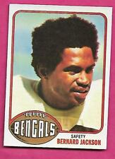 1976 TOPPS # 449 BENGALS BERNARD JACKSON ROOKIE  NRMT-MT (INV# A9338)