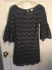 104. Anthropologie Tracy Reese Embroidered Crochet Dress With Slip Cutwork S