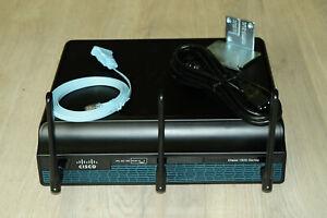 Cisco1941W-N/K9 Wireless Router PoE PSU w/ EHWIC-D-8ESGP Module 1YrWty TaxInv