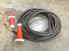 63 amp 3 Phase  Cable 5 pin Plug/Socket 15 meters long
