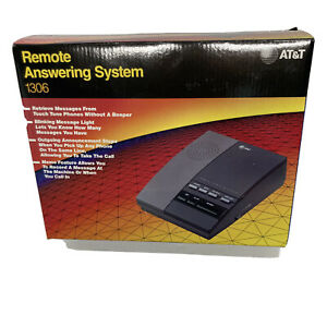 Vintage AT&T Remote Answering System Machine #1306 New With Box and Manual Gift