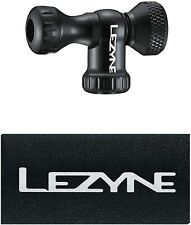 LEZYNE Control Drive C02 Bicycle Tire Inflator, Head Only, Black