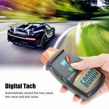 Handheld Digital Rev Counter Dt2234c Meter Non Contact Optical Tachometer Hq