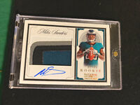2019 NATIONAL TREASURES RC ROOKIE HOLO GOLD MILES SANDERS RPA AUTO PATCH /25