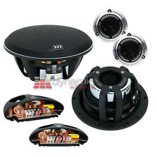 "Morel 38 Limited Edition 602 Car Audio 6-1/2"" 2-Way Component Speaker System New"