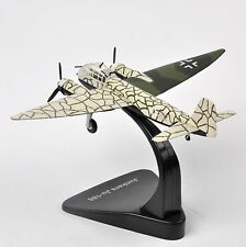 1:144 Atlas WWII Junkers Ju-188 Military Army Fighter Plane Diecast Models Gift