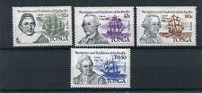 Tonga 1984 555-58 navigatori ed esploratori 1°serie  MHN