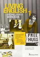(14).LIVING ENGLISH 1º.BACH.(WORKBOOK). ENVÍO URGENTE (ESPAÑA)