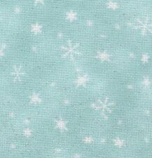 Fabric Flair Snowfall with sparkles 16 count Antique White Aida  45 x 50cm
