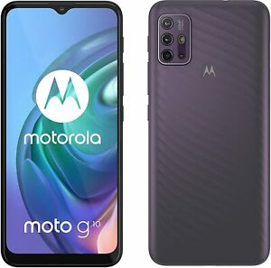 "Motorola Moto G10 XT2127-2 64GB 4GB Ram Factory Unlocked 6.5"" 48MP Phone NEW"