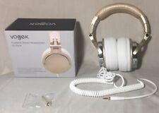 Vogek Foldable Stereo Headphones -Gold