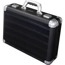 ALUMAXX Aktenkoffer VENTURE Aluminium schwarz Akten Koffer Tasche