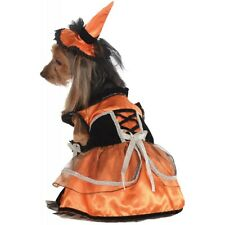Witch Dog Costume Pet Halloween Fancy Dress