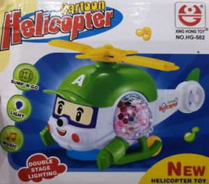 Toy Helicopter Lights and Sounds, Helicopter Cartoon Toy Music Light Top Quality