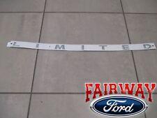 15 thru 18 F-150 OEM Genuine Ford Parts LIMITED Model Hood Emblem with Template