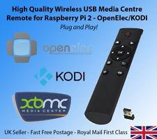 USB Wireless Media Centre Remote for Raspberry Pi 3 2 B B+ Openelec KODI OSMC