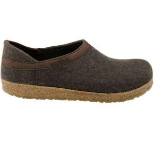 Haflinger GZH 714003 Grizzly Clog Women's Shoes Smokey Brown Size 40 EU/ 9 US