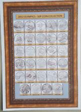 Coleccionista de monedas A4 hoja {...} 2012 Juegos Olímpicos 50p monedas