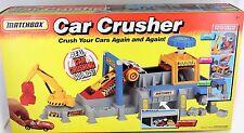 1993 Matchbox CAR CRUSHER Factory Die-cast Toy Play Set  MINT
