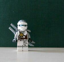 LEGO The Ninjago Minifiguren Figur Master of Spinjitzu Zane Waffen