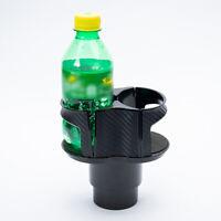 Auto Car Seat Dual Cup Holder Food Drink Bottle Mount Stand Storage Organizer