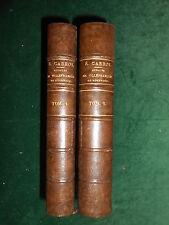 AVEYRON : ETIENNE CABROL, ANNALES DE VILLEFRANCHE-DE-ROUERGUE, 1860 - 1ère éd.