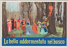 51097 - DISNEY - ITALY -  POSTAL HISTORY:  Nice VINTAGE POSTCARD from the 1950's