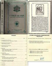 I VOLTI DEI PAPI-DA SAN PIETRO A S.S.GIOVANNI PAOLO II-PELLE-COPIA n° 217-L1009