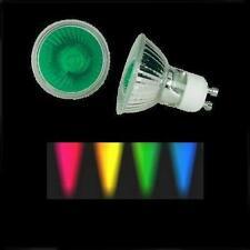 Halogenlampe 50W 230V GU10 farbig grün Halogen bunt