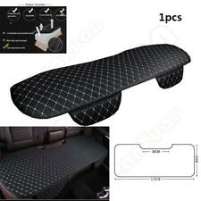 Black White Car Seat Cover Breathable PU Leather Mat for Rear Back Seat Cushion