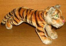 Steiff Tiger springend groß 1950er Jahre Glasaugen