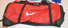 Nike Men's Travel Bag Red  Size Small BA4517 641 New w/Tags $32.99