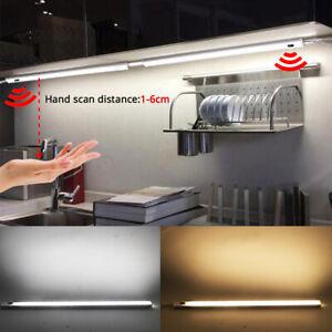 Sensor Unterbauleuchte LED Lichtleiste Küche Lampe Beleuchtung Schrank Leuchte