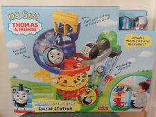 Fisher Price My First Thomas Rail Rollers Spiral Station Set Thomas Diesel NEW