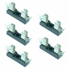 5 x 6x30mm Horizontal Fuse Holder Solder Terminals